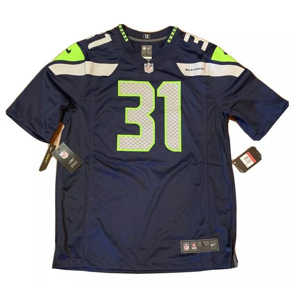 Nike Seattle Seahawks Kam Chancellor Jersey NEW